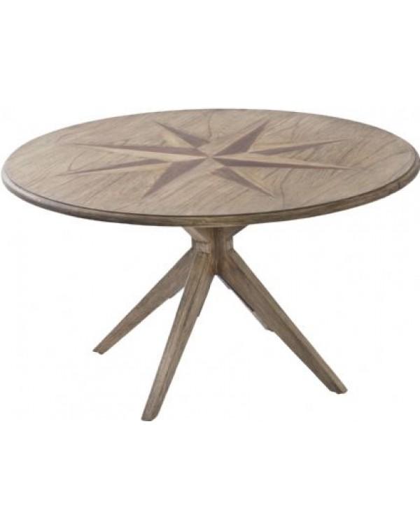 Amerigo Mindi Wood Coffee Table